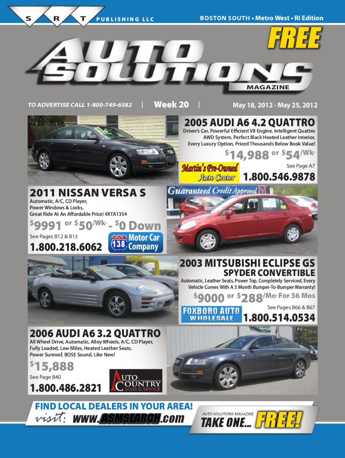 Superb Week 20 South Book By Auto Solutions Magazine Issuu Wiring Cloud Peadfoxcilixyz