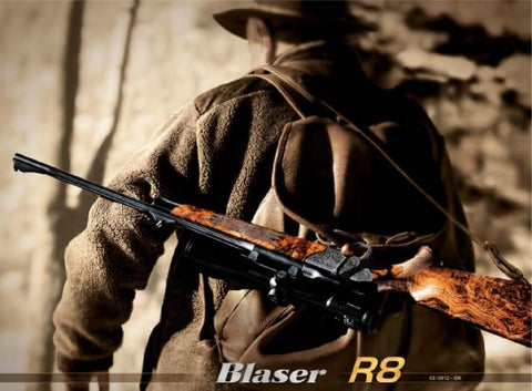 ad93e0ded6f FROM EXPERIENCE Our ideas for new rifle technology are not. The Blaser  Mission