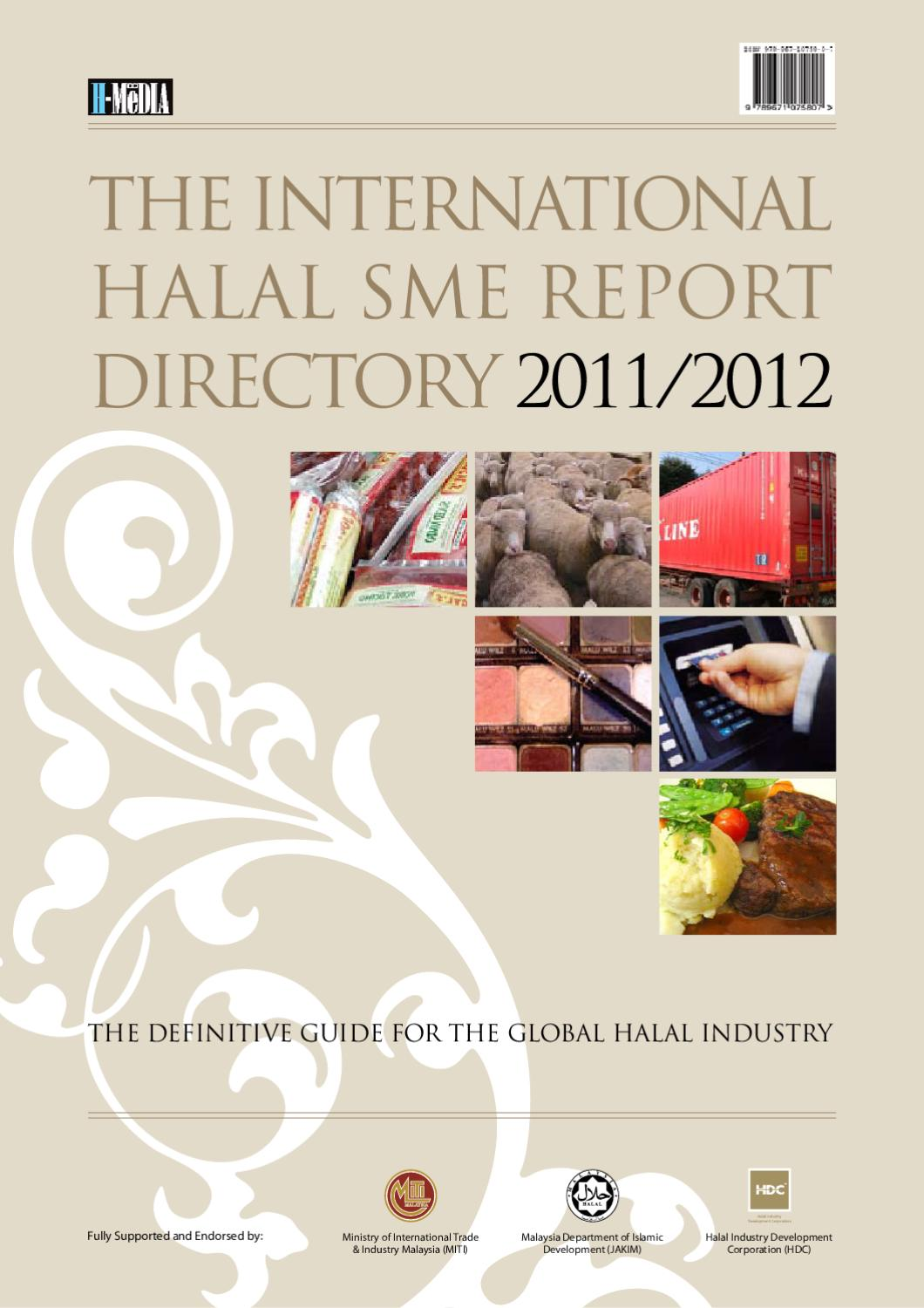 The International Halal SME Report Directory by Kamarul