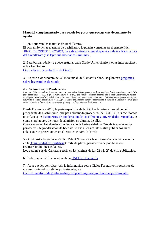 Enlaces Complementarios By Orientacion Iesalbericia Issuu