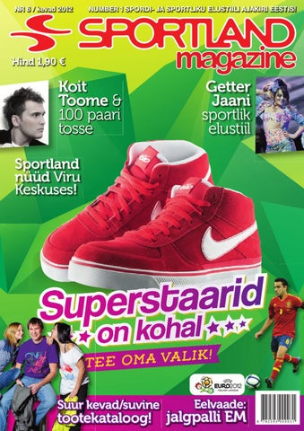 7562986afe11 Sportland Magazine  6 by Sportland Eesti - issuu
