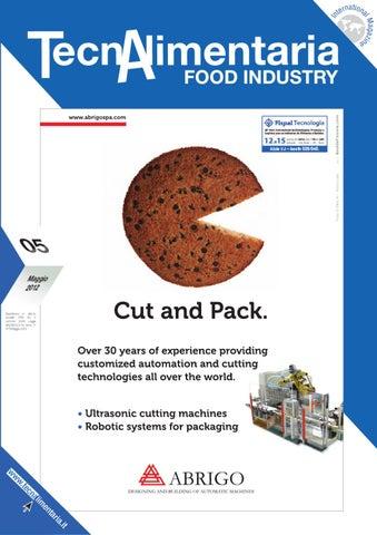 TecnAlimentaria Food Industry - Maggio/May 2018 by EDITRICE EDF TREND Srl -  issuu