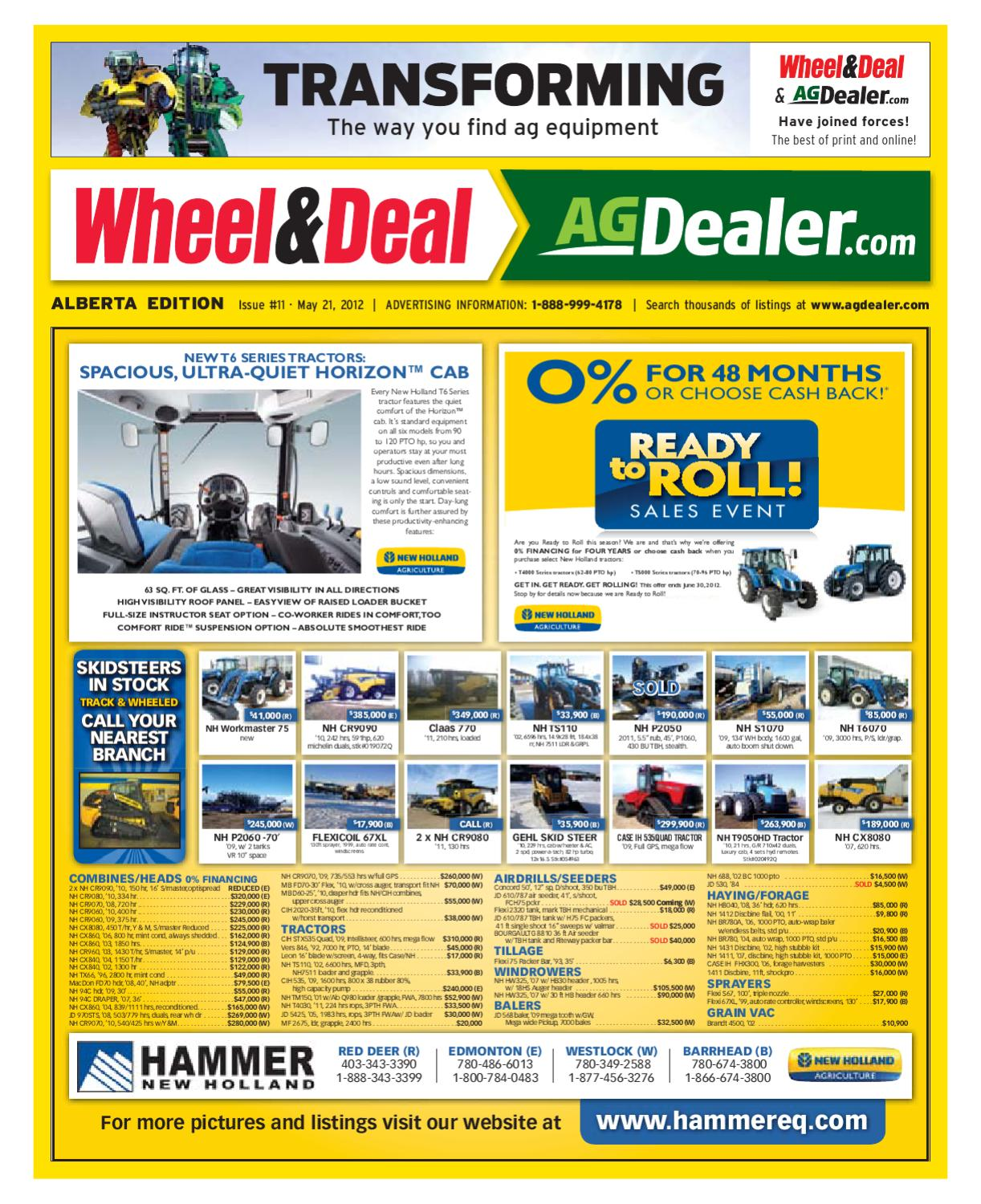 Wheel Amp Deal Alberta May 21 2012 By Farm Business Eb12s Omc Trolling Motor And Adapter Group Diagram Parts Communications Issuu