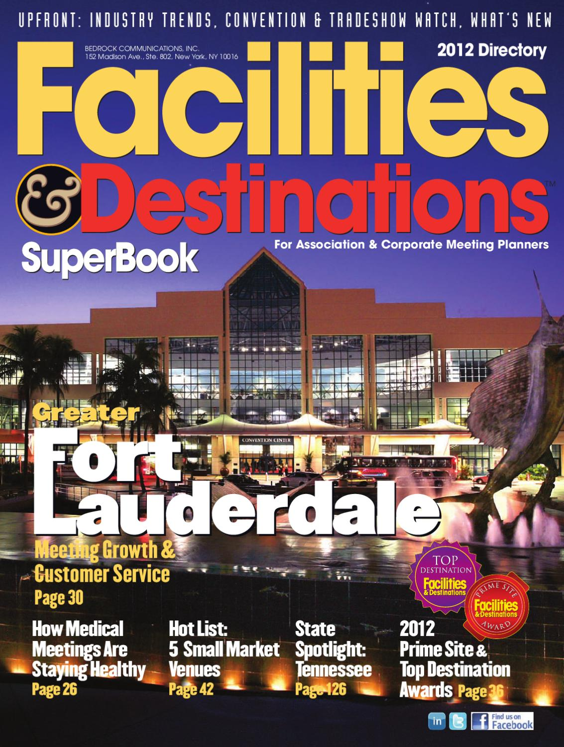 fb2daa4c279 2012 Facilities   Destinations SuperBook by Facilities Media Group - issuu