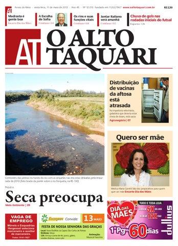 Jornal O Alto Taquari - 11 de maio de 2012 by Jornal O Alto Taquari ... 48f5ec5f20