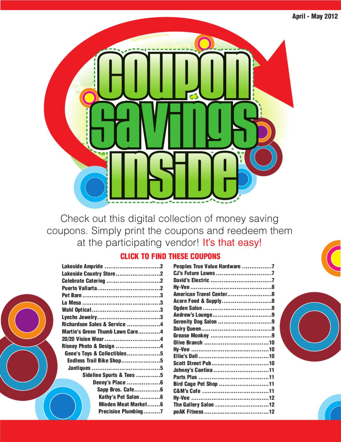 Coupon Book By Star Herald Issuu