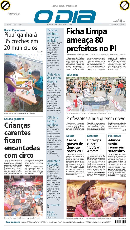 JORNAL O DIA by Jornal O Dia - issuu 7b8a21054f796