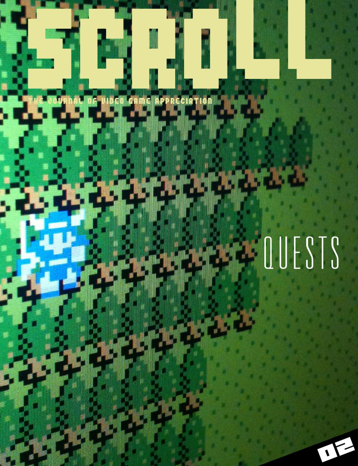 SCROLL 02: Quests (Full) by SCROLL - issuu