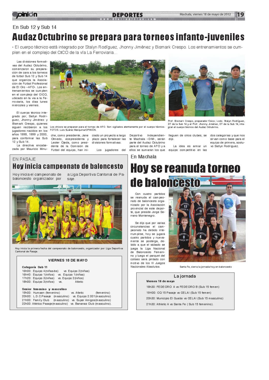 Diario Opinión - Edición Impresa by Diario Opinion - issuu