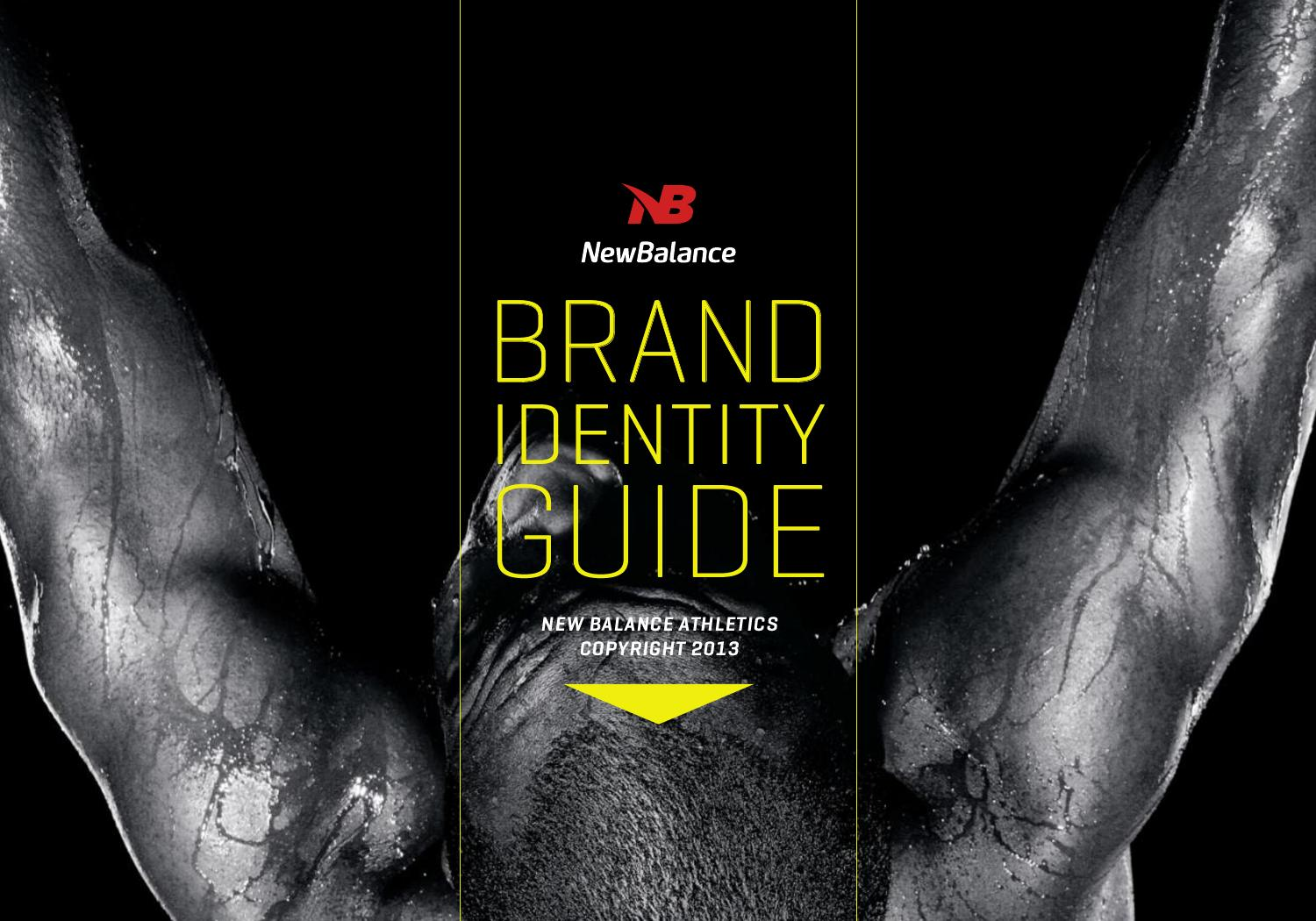 New balance brand identity guide by adrian posadas issuu biocorpaavc Choice Image