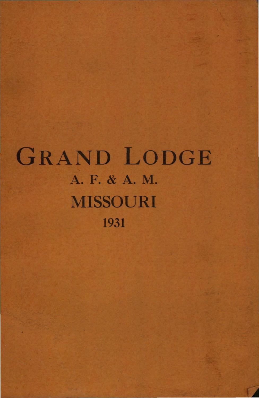 1931 proceedings grand lodge of missouri, volume 2 appendixes by1931 proceedings grand lodge of missouri, volume 2 appendixes by missouri freemasons issuu