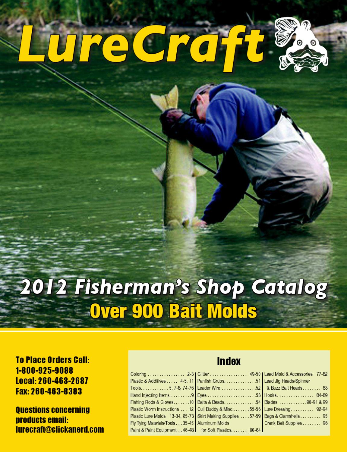 page_1 lurecraft 2012 catalog by abram adams issuu  at mifinder.co