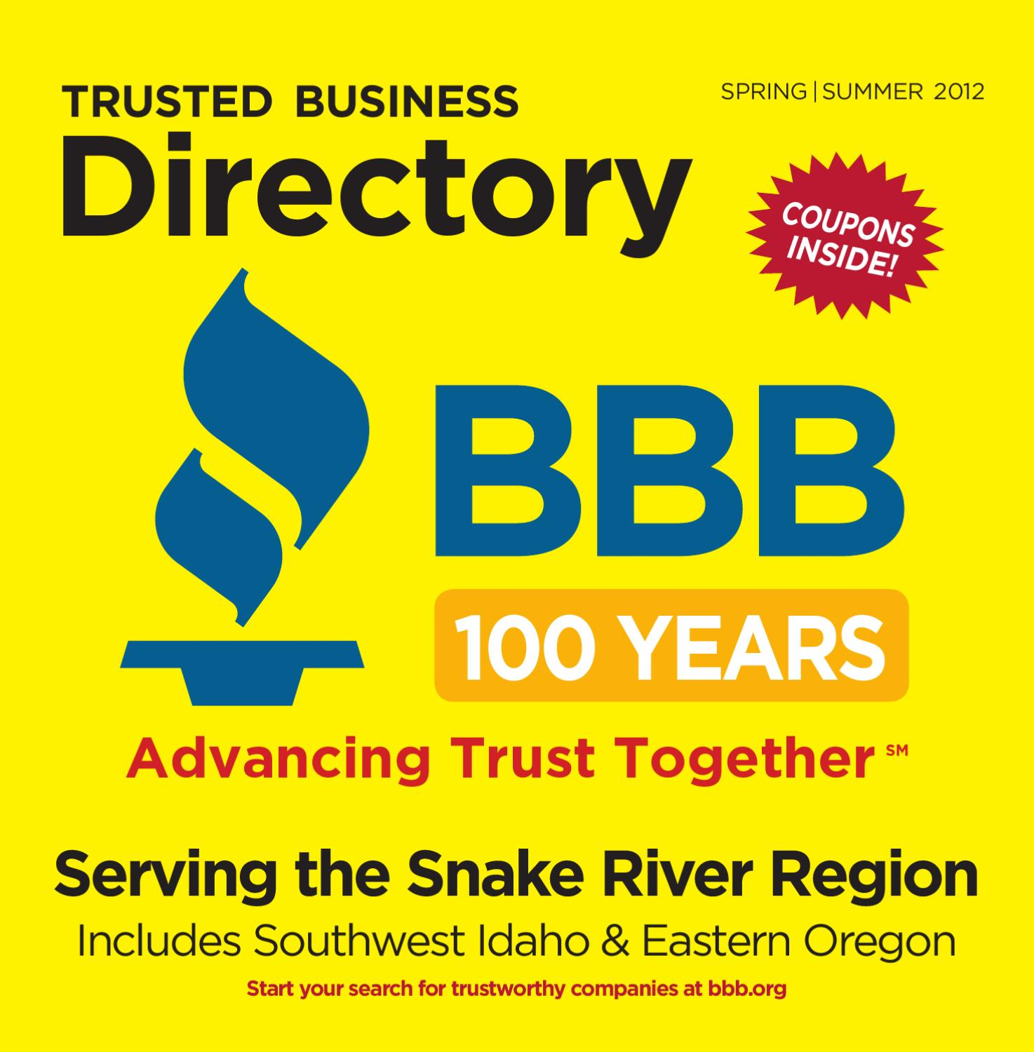 Better Business Bureau Spring Directory By Idaho Statesman Issuu Home Gt Appliances Rv Appliance Circuit Boards