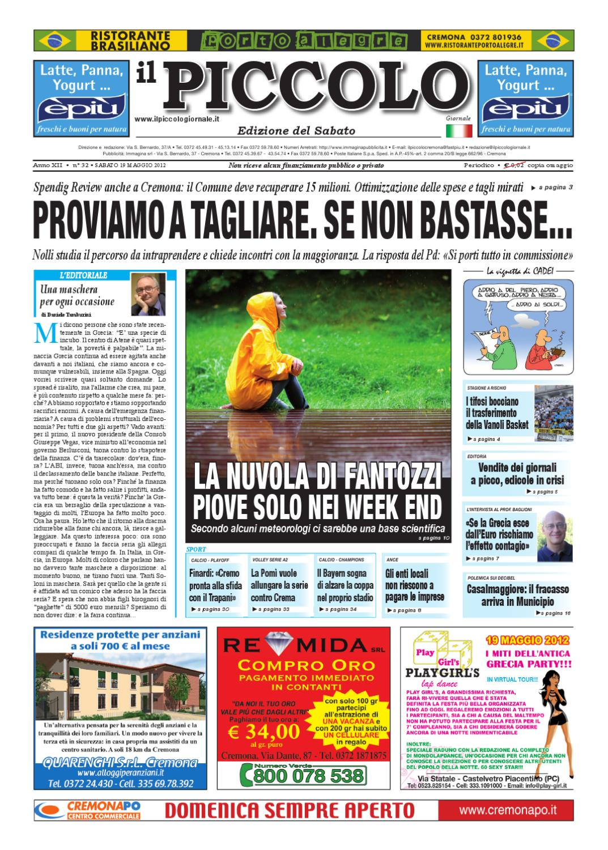 Il Piccolo Giornale Di Cremona By Promedia Promedia Issuu