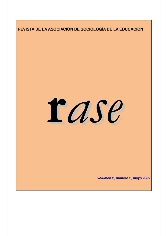 RASE Volumen 2, número 2, Mayo 2009 by RASE - issuu