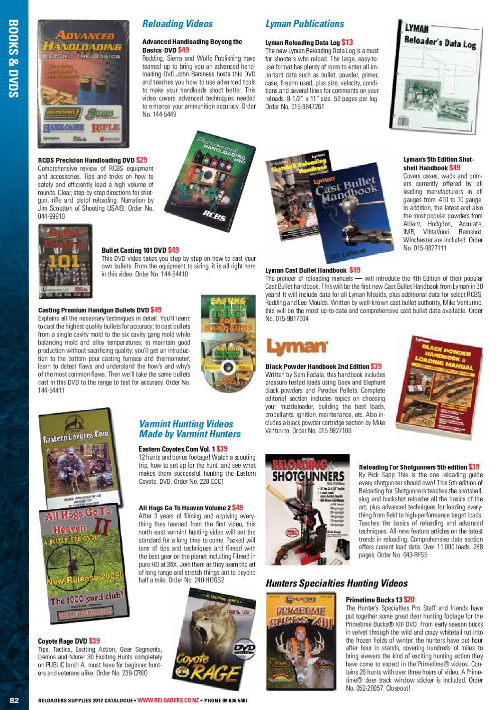 Reloaders Catalogue 2012 by Hurst Media Ltd - issuu