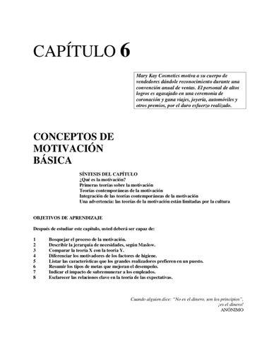 Conceptos De Motivación Básica By Luis Martinez Issuu