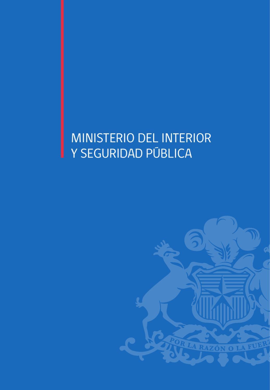 Cuenta P Blica 2012 Ministerio Del Interior Y Seguridad