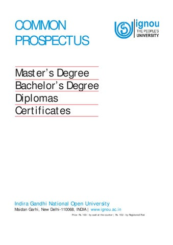 ignou mscdfsm thesis