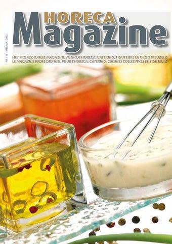Horeca Magazine 114 By Services Pro Issuu