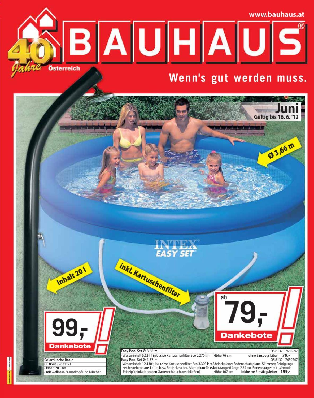 Bauhaus by aktionsfinder gmbh issuu for Bauhaus pool abdeckplane