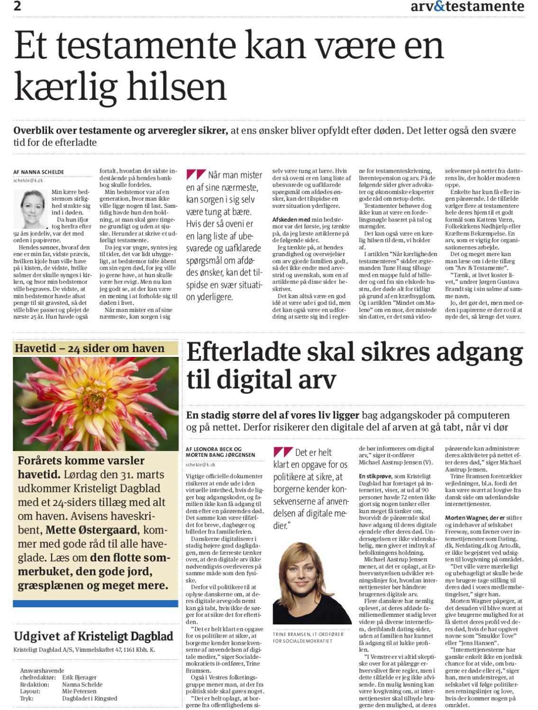 87898bb9f00 Arv og testamente by Kristeligt Dagblad - issuu