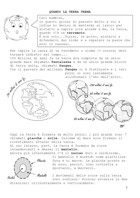 Terremoto by silvia castro issuu - Immagine da colorare della terra ...