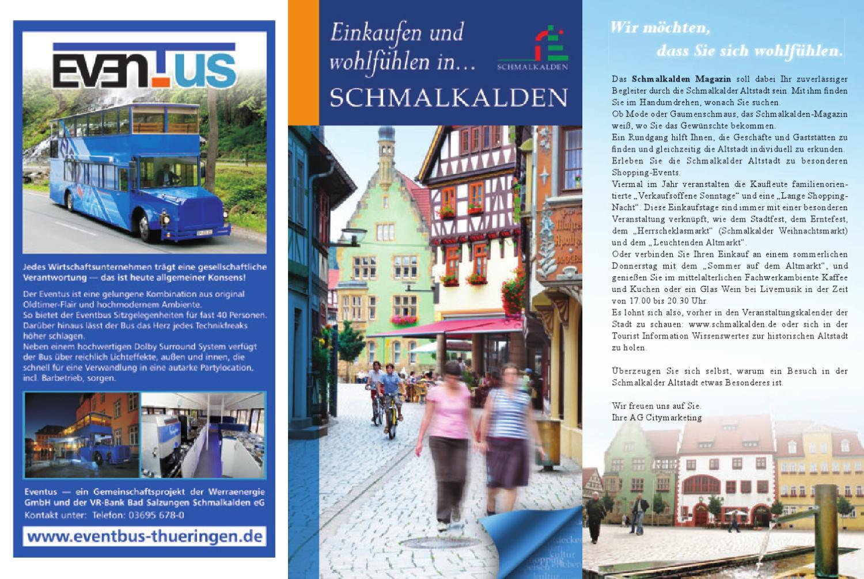 Einkaufen und wohlfühlen in Schmalkalden by Ralf Liebaug - issuu