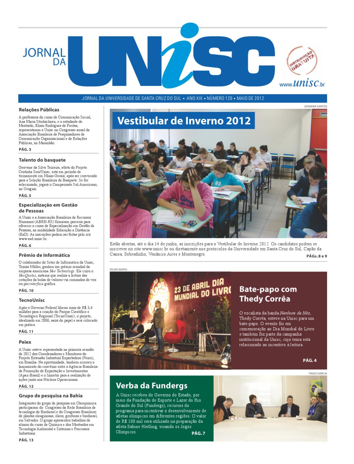 072b8fc791 Jornal da UNISC by UNISC Santa Cruz do Sul - issuu