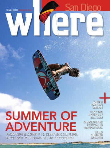 WHERE San Diego Magazine Summer 2012 by SoCalMedia - issuu 9f081efc40bf