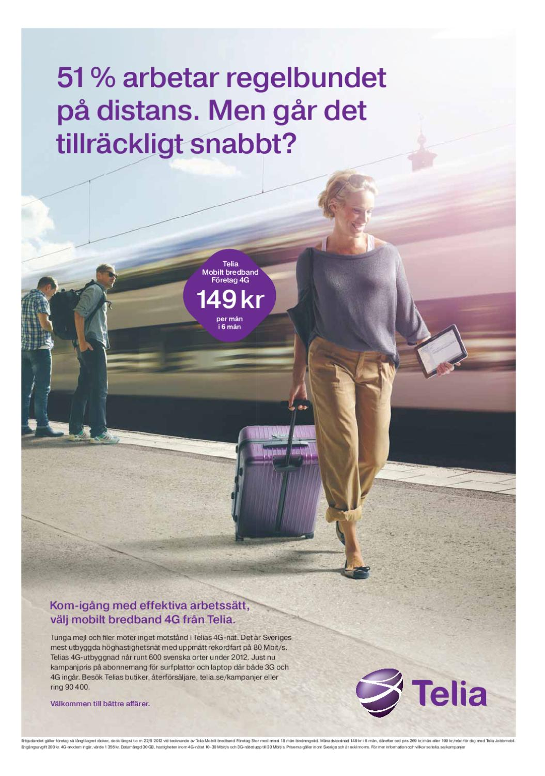 telia kampanj mobilt bredband