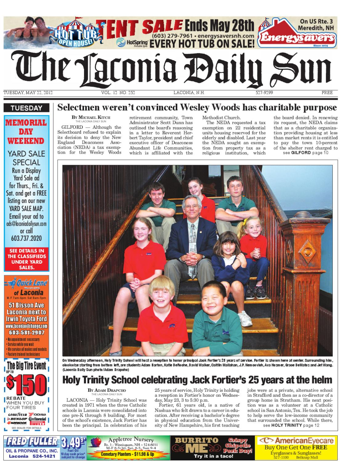 The Laconia Daily Sun, May 22, 2012 by Daily Sun - issuu