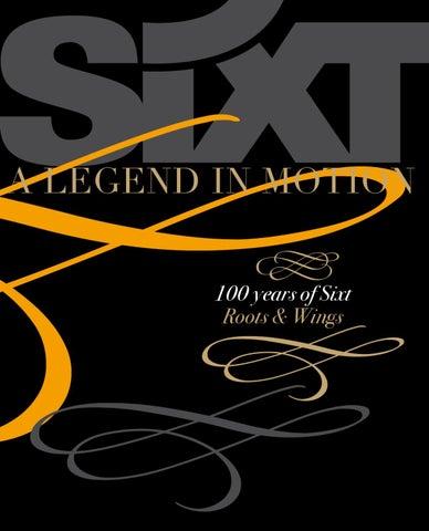 GoSixt, Hundred years of Sixt by Jochen Vorfelder - issuu