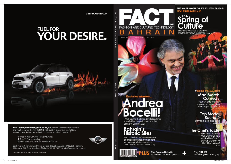 3d86f59e8cb FACT Magazine Bahrain March 2012 by Fact Magazine - issuu