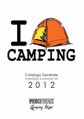 92cb767a26a90 Pesci Camping Store CATALOGO GENERALE 2012 - italiano by PESCI ...