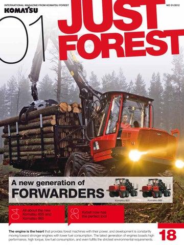 Just Forest Magazine 1 2012 by Dynamo Press - issuu