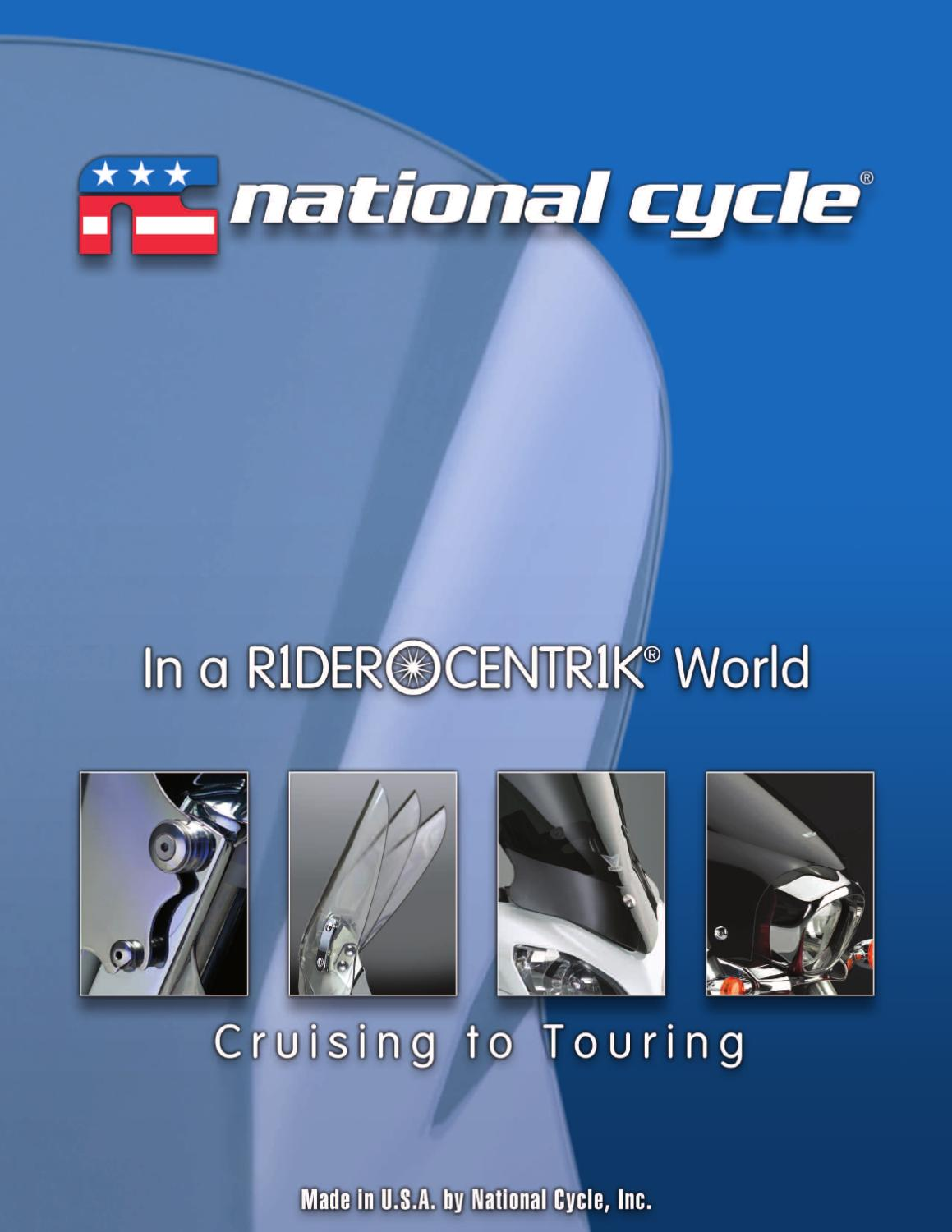 National Cycle Windscreen Vent 23050