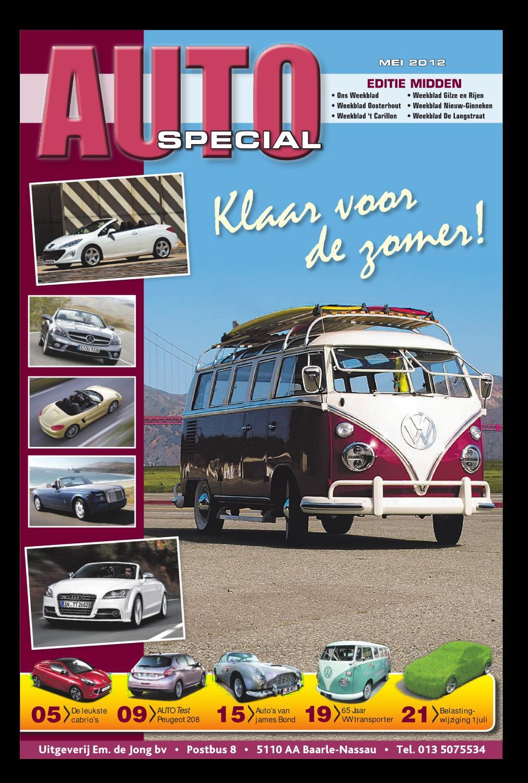 Autospecial editie midden by uitgeverij em de jong issuu for Nassau indus deur bv oosterhout