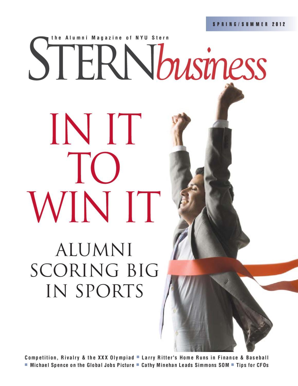 SternBusiness Spring/Summer 2012 by NYU Stern - issuu
