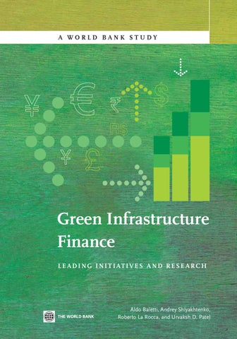 Green infrastructure finance by world bank publications issuu a world bank study fandeluxe Images