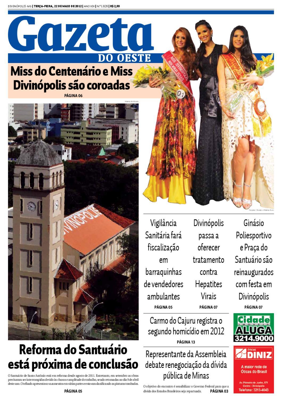 Gazeta do Oeste by Dacio Fernandes - issuu 2691f6f34f