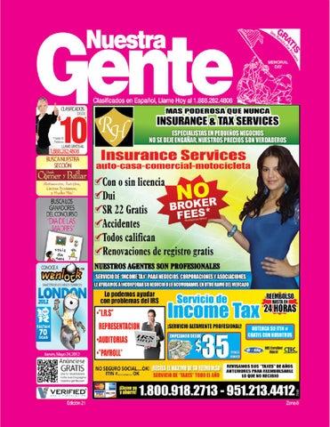 Nuestra Gente Edicion 21 Zona 8 by Nuestra Gente - issuu c61544e6488b