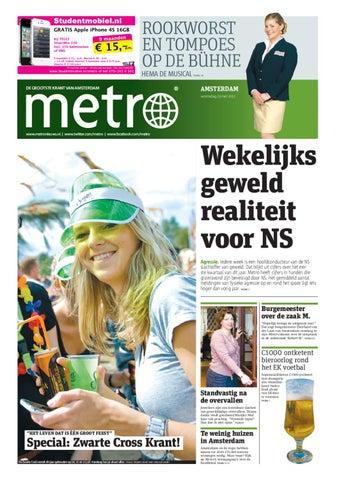 Zitzak Gerard Joling.20120523 Nl Amsterdam By Metro Netherlands Issuu