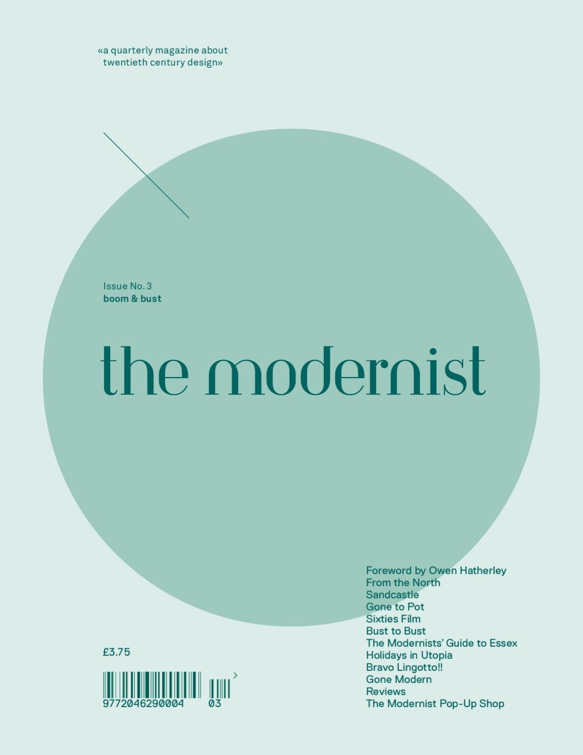 The Modernist by the modernist magazine - issuu