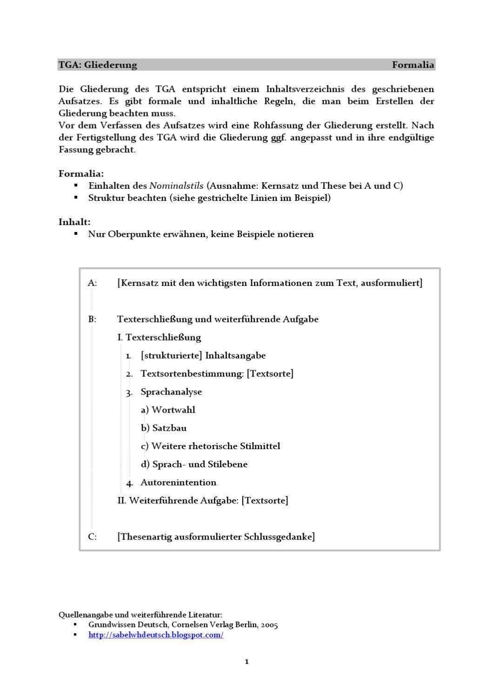 Mustergliederung TGA by Richard Salzmann - issuu