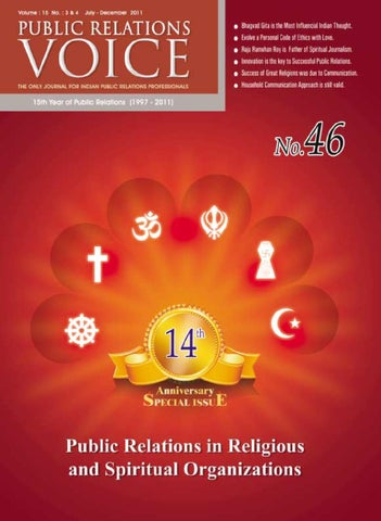 Public Relation Voice by Ron Billimoria - issuu