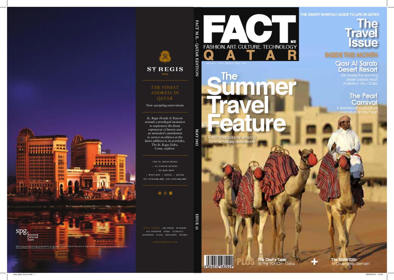Fact Magazine Qatar May 2012 By Fact Magazine Issuu