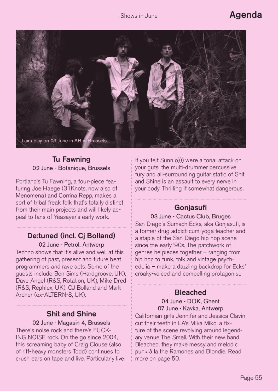 Subbacultcha Magazine BE version June 2012 by Subbacultcha