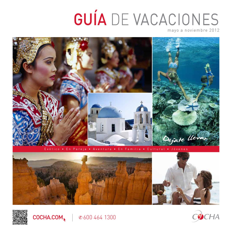 Guia De Vacaciones Cocha Chile Mayo 2012 By Cocha Agencia De Viajes Travel Agency Issuu