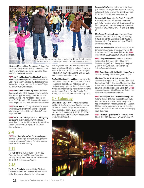 MetroFamily Magazine December 2011 by MetroFamily Magazine - issuu